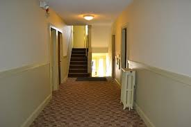 garfield apartment hallways metro interiors