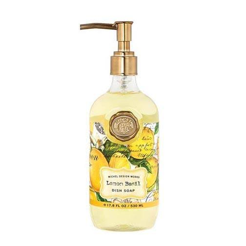 Michel Design Works Dish Soap - 17.8oz, Lemon Basil