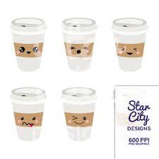 Coffee Clipart Kawaii 4