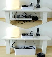 cache fil bureau design d intérieur cache cable pour bureau maple wave desk shown