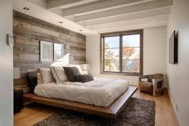 Wood Clad Bedroom Walls 09 1 Kindesign