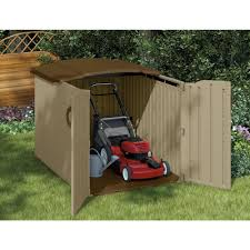 Rubbermaid Shed Assembly Time by Suncast Glidetop Storage Shed Blue Carrot Com
