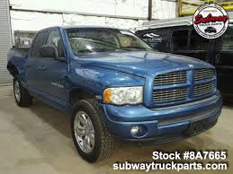 100 Subway Truck Parts Used 2004 Dodge Ram 1500 For Sale Khosh
