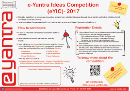 The E Yantra Ideas Competition Solicits Innovative Projects From Teams Of ELSI Colleges