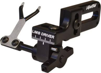 Vapor Trail Archery Limb Driver Pro Standard Arrow Rest - Black