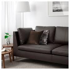 Leather Sofa Bed Ikea by Stockholm Sofa Seglora Dark Brown Ikea