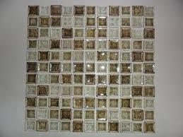unique glass mosaic tile sheets and fuoco gold black designer