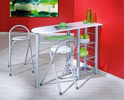 table de cuisine haute avec tabouret table haute avec tabouret cuisine en image