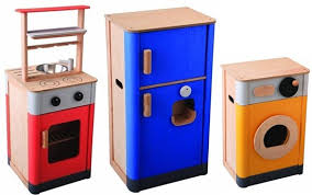 Most affordable green play kitchen sets by PlanToys