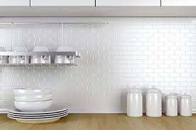 white tiles walls and floors