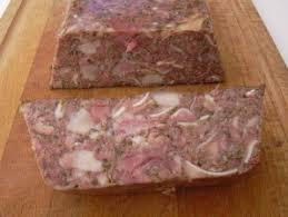 pate de tete de porc maison recette fromage de tète ou pâté de tète sur recettes de natie