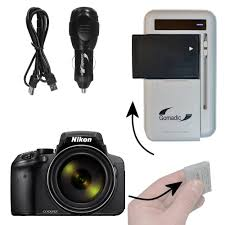 Portable External Battery Charging Kit suitable for the Nikon