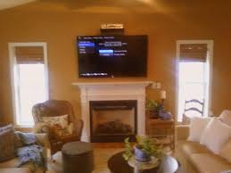 Hide Tv Cables Fireplace Great Where To Put Cable Box With Tv