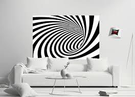 poster tunnel schwarz weiß wanddeko wandbild fotoposter