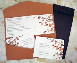 Fall Themed Printable Wedding Invitations Source Bestuniqueinvitations