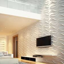 19 58Inch W X 19 58Inch H Wave EnduraWall Decorative 3D Wall