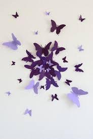 30 3D Butterfly Wall Art Circle Burst
