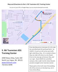 100 Las Vegas Truck Driving School Southern Nevada Teamsters 631 Training Center