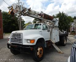 1999 Ford F800 Digger Derrick Truck | Item DB8309 | SOLD! Se...