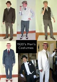 7 Easy 1920s Mens Costumes Ideas