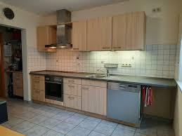 nolte küche porta mit elektrogeräten eschefarben