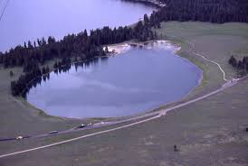 Hydrothermal Explosion Craters Yellowstone Lake