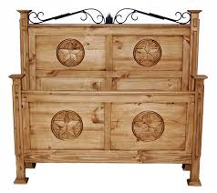 Woodstar Cabinets Duncanville Tx by Rustic San Gabriel Full Size Bedroom Set With Stars 02 1 10 01 46
