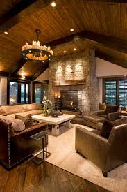 Fashionable Design Ideas Rustic Style Living Room Perfect 55 Awe Inspiring