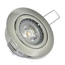details zu dimmbare bad deckenspots einbaustrahler bajo 230v gu10 power led spots 5 watt