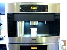 A1049274 Detail In Wall Coffee Maker Over The Top Built Machine