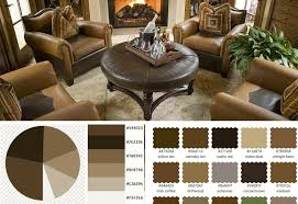 Living Room Color Scheme Vanilla Sorrell Brown Rustic Red Tan