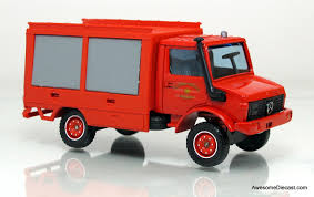 100 Unimog Truck Solido 143 MercedesBenz Fire Rescue Awesome Diecast
