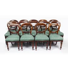 Antique Set 14 Victorian Mahogany Dining Chairs 19th Century Antique Victorian Ref No 03505 Regent Antiques Set Of Ten Mahogany Balloon Back Ding Chairs 6 Walnut Eight 62 Style Ebay Finely Carved Quality Four C1845 Reproduction Balloon Back Ding Chairs Fiddleback Style Table And In Traditional Living Living Room Upholstery 8 Upholstered Lloonback Antique French