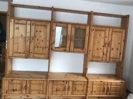 details zu kiefer stollen schrank massiv kiefer wohnwand wohnzimmer