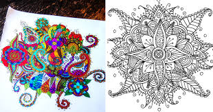 I Create Coloring Mandalas And Give Them Away For Free