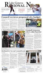 Halloween Millionaire Raffle Illinois 2014 by The Lake Geneva Regional News Oct 30 2014 Edition By Lgrn Issuu