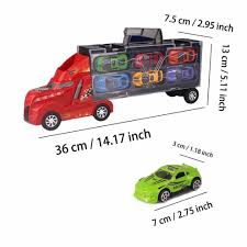 100 Girls On Trucks Ayuboom Transport Car Carrier Truck Toy For Boys And Car