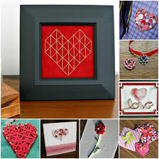 Because I Love To Make Paper Craft Projects For Valentines Day Put Together A Collage Of Eight My Favorites All The Links Are Here