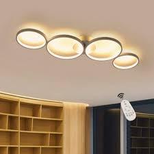 zmh led deckenleuchte led deckenle dimmbar designle für schlafzimmer wohnzimmer küchen badezimmer kinderzimmer kaufen otto