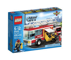 Amazon.com: LEGO City Fire Truck 60002: Toys & Games | Christmas ...