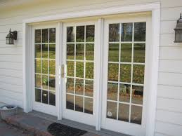 New Pella French Patio Doors with Screens