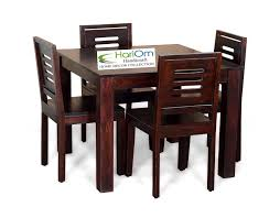 Hariom Handicraft Sheesham Wood Wooden Dining Set 4 Seater, Dining Table  With Chairs, Mahogany Finish Hariom Handicraft Sheesham Wood Wooden Ding Set 4 Seater Table With Chairs Mahogany Finish Custom Made Childrens And Chair By Fast Industries And Kitchen Tables Farmhouse Industrial Modern 9 Piece Solid 8 Role Play Sunrise Lawn Fniture Hardwood Indoor Paden Ok Preschool Equipment Room Sets Barker Stonehouse Rustic Folding Handcrafted In Portland Oregon The Joinery