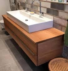 waschtisch aus eiche mit vier schubkasten badezimmer neu