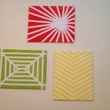 Tape Painting Ideas Best 25 Masking Art For