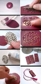 How To Make Your Cool Unique Clay Necklace Step By DIY Tutorial Instructions Picture Tutorials Diy