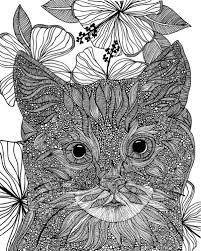 Make This Detailed Coloring Canvas Print Your Own By Decorating Missy Valentina Ramos