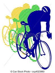 Racing Bikes Clipart
