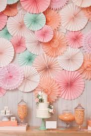 Wall Decor DIY CM Decorative Tissue Paper Fan For Baby Shower Birthday Wedding Party Decorations