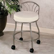 Vanity Chairs With Backs For Bathroom by Home Decoration A Looks At Bathroom Vanity Stools Solo Bath In