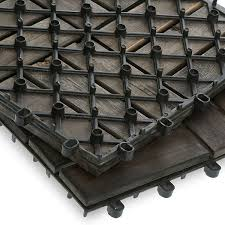 hardwood acacia deck tiles garden winds